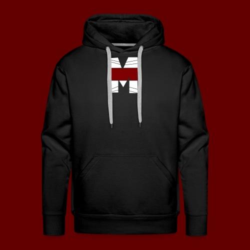WHITE AND RED M Season 2 - Men's Premium Hoodie
