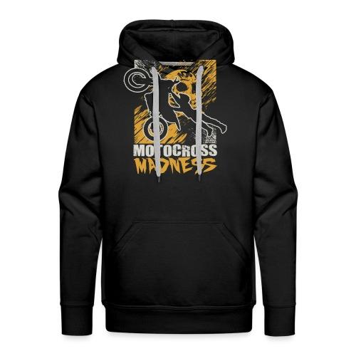 Motocross Madness - Men's Premium Hoodie
