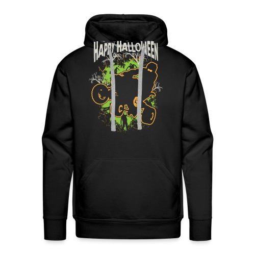 ATV Quad Happy Halloween - Men's Premium Hoodie
