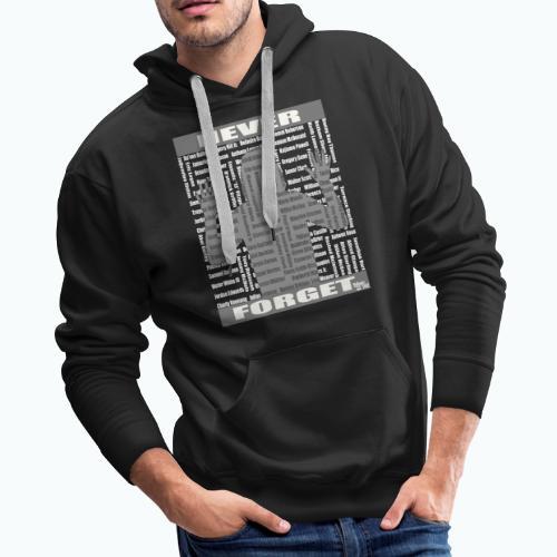 rest in paradise wht - Men's Premium Hoodie