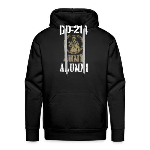DD-214 ARMY ALUMNI - Men's Premium Hoodie