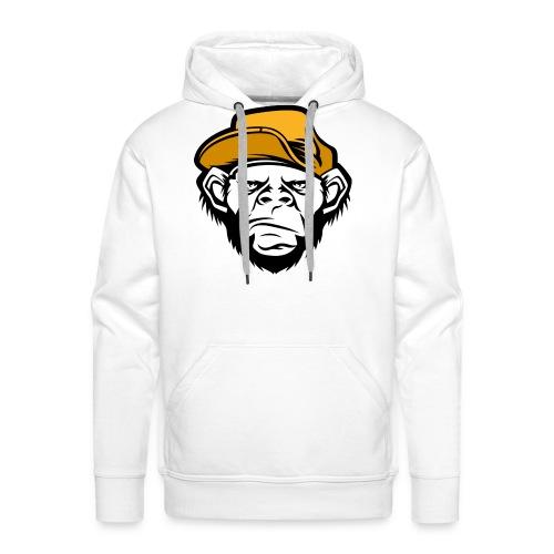 bad monkey face - Men's Premium Hoodie