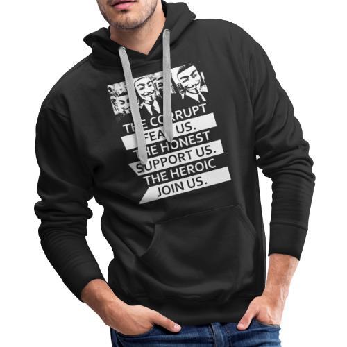 Anonymous 5 - Men's Premium Hoodie