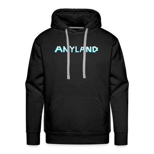 Anyland logo - Men's Premium Hoodie