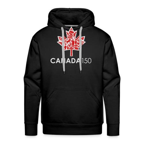 Canada 150 Womens - White - Men's Premium Hoodie