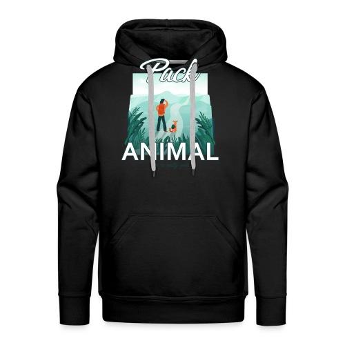 Life Is Really Good Pack Animal - Men's Premium Hoodie