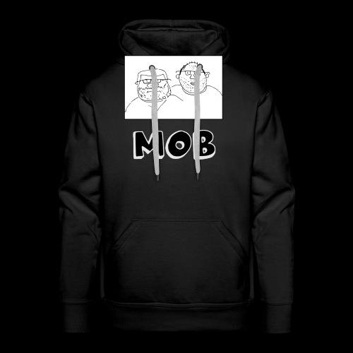 MOB Logo - Men's Premium Hoodie