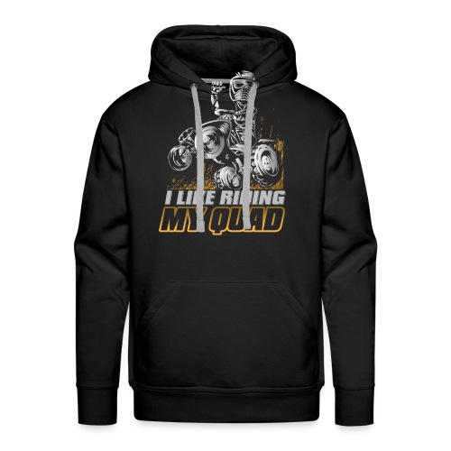 ATV Quad Like Stunt Rider - Men's Premium Hoodie
