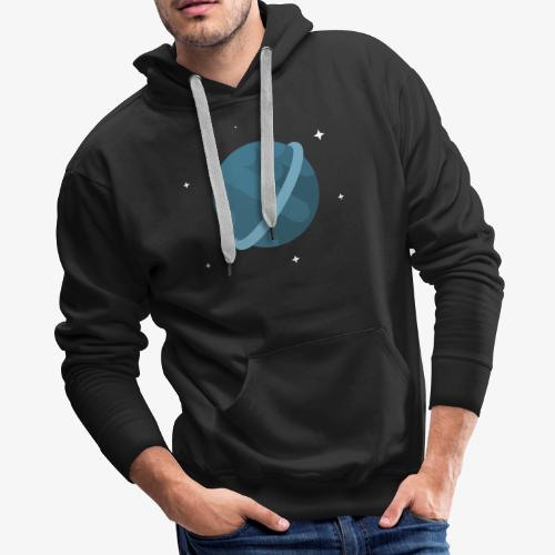 Tiny Blue Planet - Men's Premium Hoodie