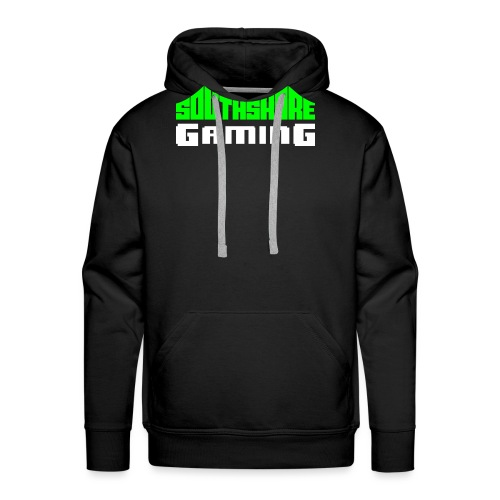 SSG Logo Color White - Men's Premium Hoodie