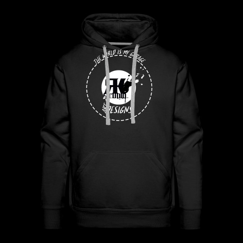 The World is My Garage - Men's Premium Hoodie
