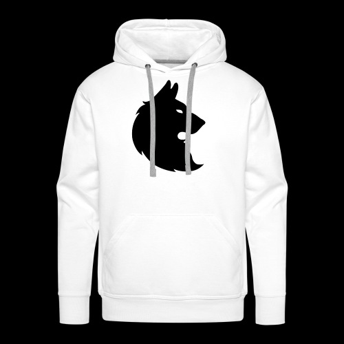 wolf trace - Men's Premium Hoodie