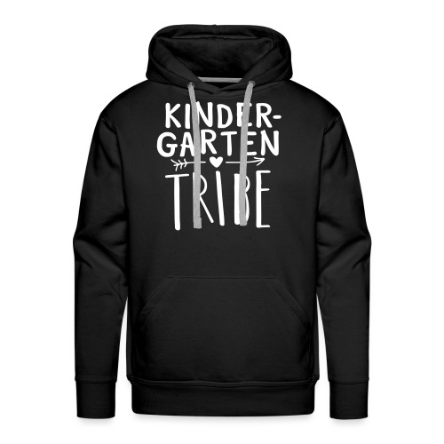 Kindergarten Tribe Teacher Team T-Shirts - Men's Premium Hoodie