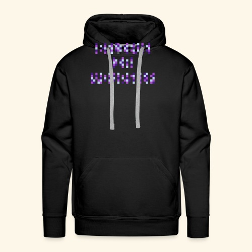 BELIEVE IN YOURSELF PURPLE #1 - Men's Premium Hoodie