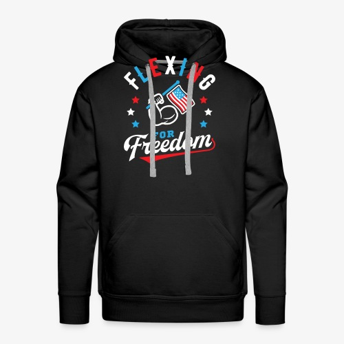Flexing For Freedom - Men's Premium Hoodie