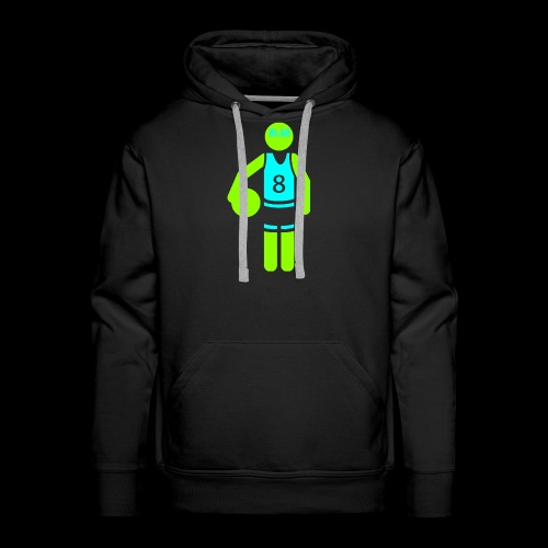my amazing blab clothing logo - Men's Premium Hoodie