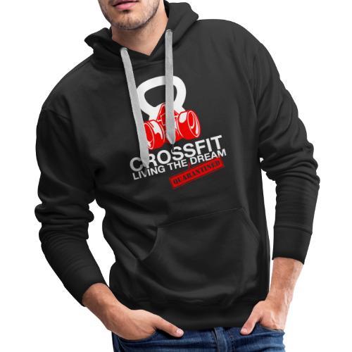 CROSSFIT LTQD - WHITE - Men's Premium Hoodie