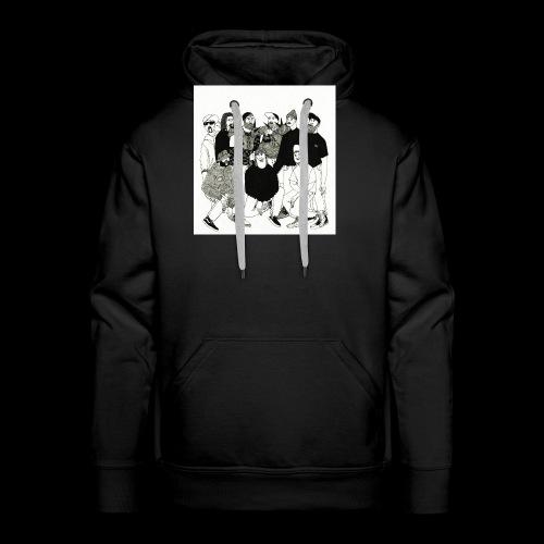 The DBD Show EP Cover Art - Men's Premium Hoodie