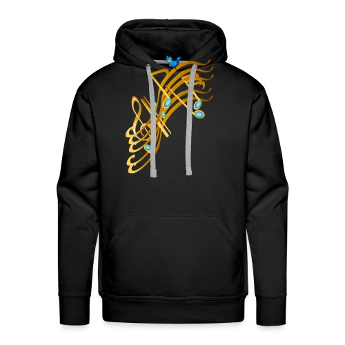 Golden Notes - Men's Premium Hoodie