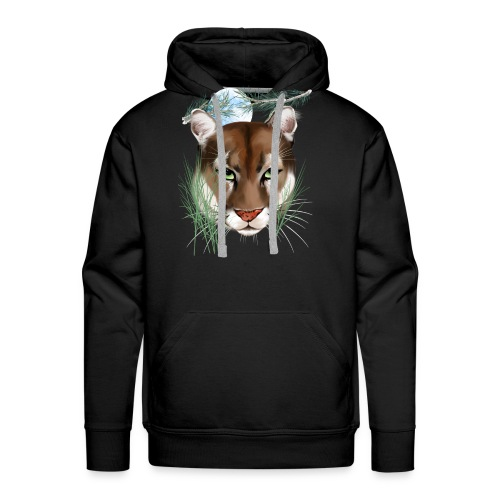 Midnight Puma - Men's Premium Hoodie