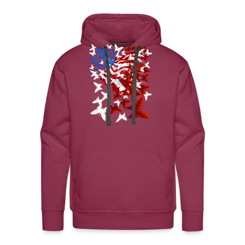 The Butterfly Flag - Men's Premium Hoodie