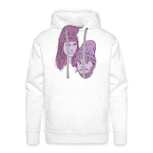 Hila and Ethan from h3h3productions - Men's Premium Hoodie