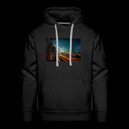 City Nights - Men's Premium Hoodie