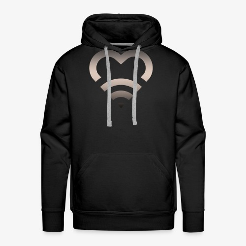 I Heart Wifi IPhone Case - Men's Premium Hoodie