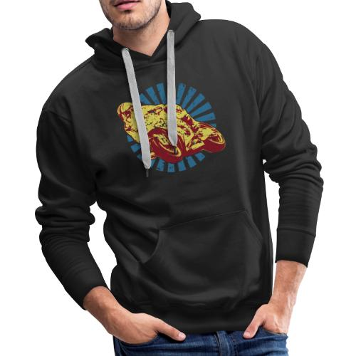 Sportbike Racing Motorcycle - Men's Premium Hoodie