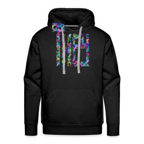 They/Them/Their Pattern They - Men's Premium Hoodie