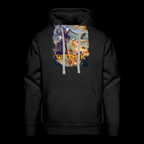 The Witcher 3 - Griffin - Men's Premium Hoodie