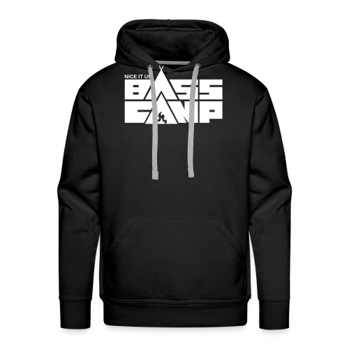 Nice it up! Bass Camp Logo - Men's Premium Hoodie