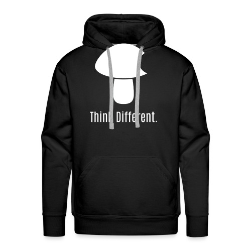 Think Different. - Men's Premium Hoodie
