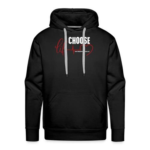 Choose Life - Dark - Men's Premium Hoodie