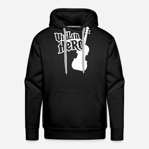 Violin Hero - Men's Premium Hoodie