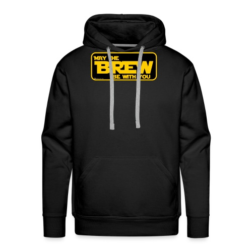 May The Brew Be With You - Men's Premium Hoodie