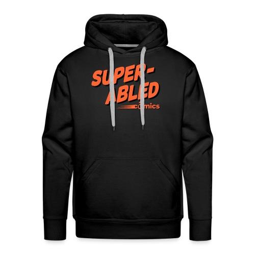 Super-Abled Comics orange + black - Men's Premium Hoodie