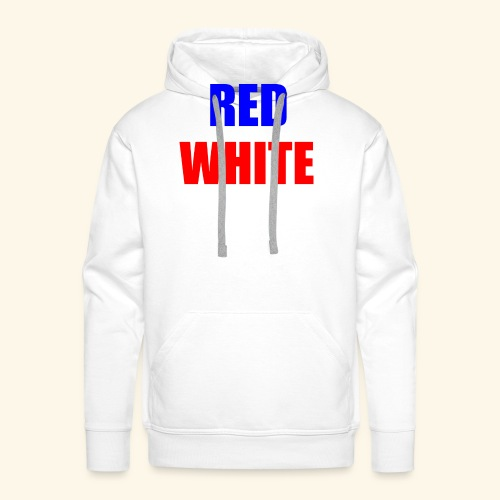red white blue OCD - Men's Premium Hoodie