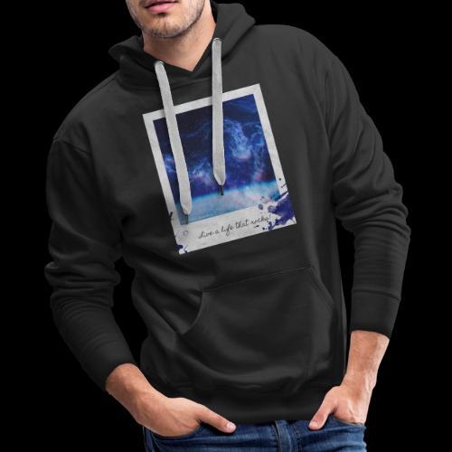 Polaroid Spaceman - Men's Premium Hoodie