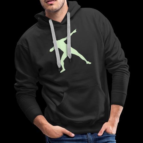 Bolt triumph silhouette - Men's Premium Hoodie