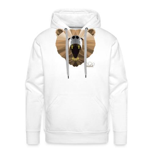 Hungry Bear Women's V-Neck T-Shirt - Men's Premium Hoodie