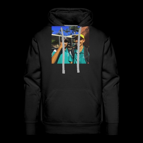 wasted youth. - Men's Premium Hoodie