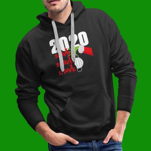 2020 Stink Stank Stunk Christmas - Men's Premium Hoodie