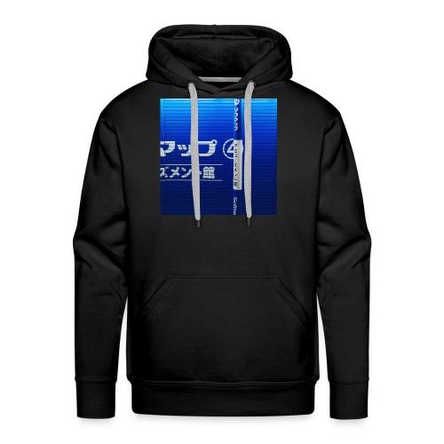 Blue Wave - Men's Premium Hoodie