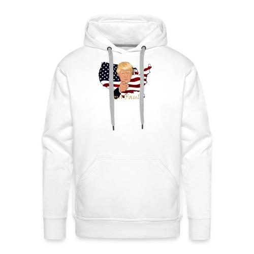 Trump Fault - Men's Premium Hoodie