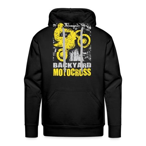 Backyard Motocross Suzuki - Men's Premium Hoodie