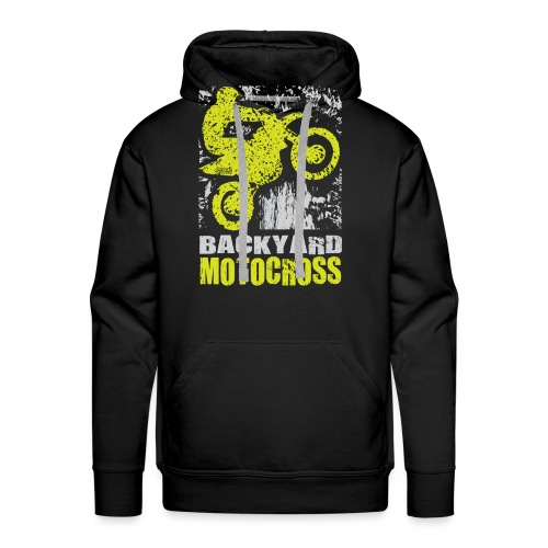 Backyard Motocross Kawasaki - Men's Premium Hoodie