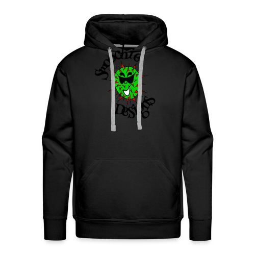 Smoochie Designs logo - Men's Premium Hoodie