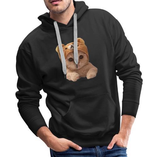 uwu catwifhat - Men's Premium Hoodie