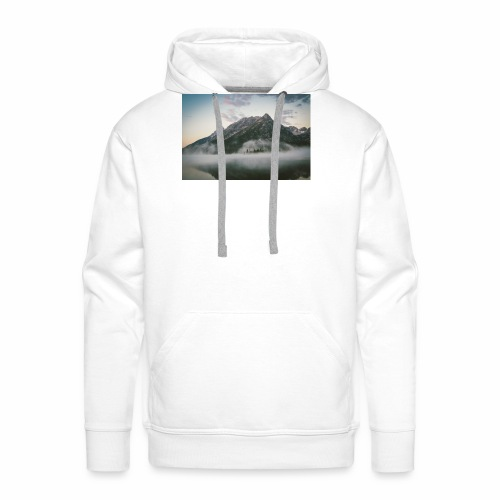 mountain view - Men's Premium Hoodie